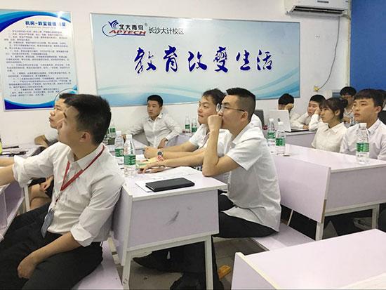 长沙北大青鸟大计校区T223班项目答辩